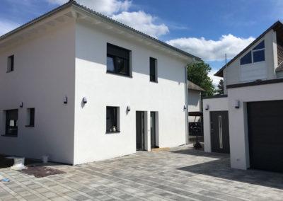 Neubau Projekt mit Doppelgarage in Gottmadingen, Stand: 90 %