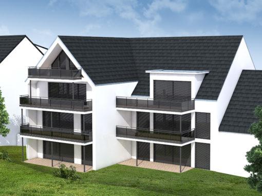 Neubau in Bietingen mit unverbaubarem Blick
