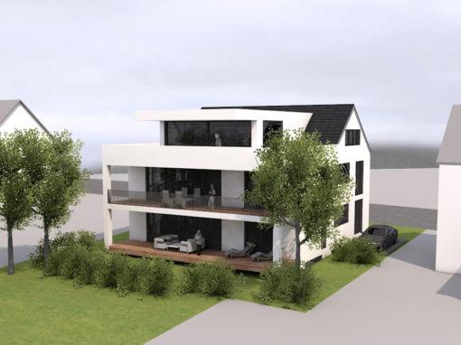 Singen: Neubau besonderes 2-Familienhaus mit moderner Architektur