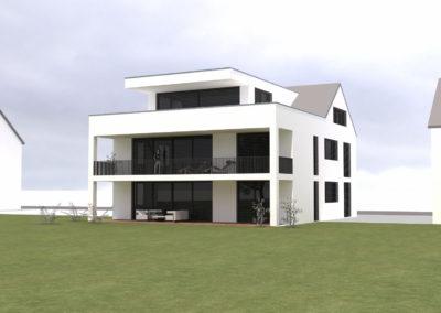 Neubau besonderes 2-Familienhaus mit moderner Architektur